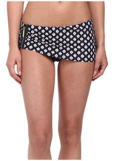 MICHAEL Michael Kors Shore Ikat Skirted Hipster Swim Bottoms