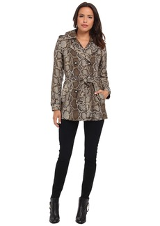 MICHAEL Michael Kors Short Printed Trench