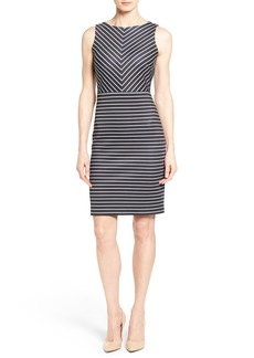 MICHAEL Michael Kors Stripe Sheath Dress