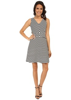 MICHAEL Michael Kors Vivid YD Stripe Printed Dress