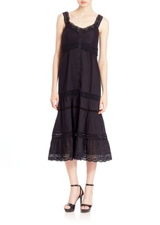 Nanette Lepore All-Laced Up Dress