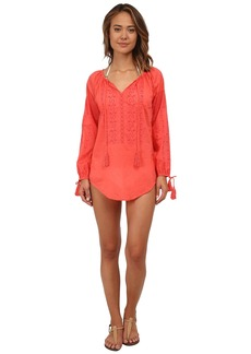 Nanette Lepore Calcutta Peasant Tunic Cover-Up