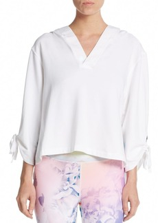 Nanette Lepore Cropped Hooded Top