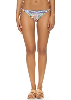 Nanette Lepore Greek Tiles Vamp Bikini Bottoms