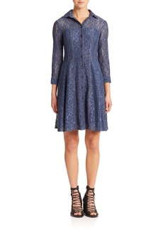 Nanette Lepore Lace Fever Denim Dress