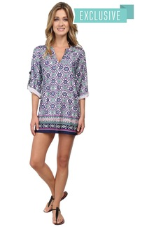 Nanette Lepore Mallorca Mosaic Tunic Cover-Up