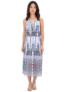 Nanette Lepore Paros Paisley Midi Dress Cover-Up