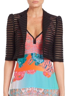 Nanette Lepore Perforated Jacket