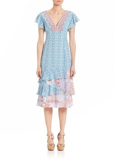 Nanette Lepore Picturesque Printed Dress