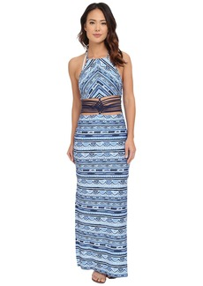 Nanette Lepore Santorini Scallop Maxi Dress Cover-Up