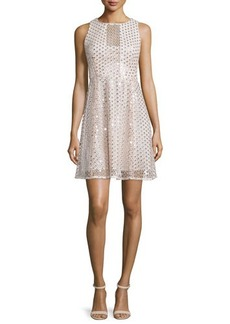 Nanette Lepore Sleeveless Embellished Party Dress