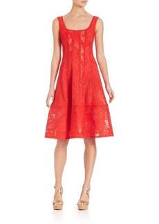 Nanette Lepore Stary Night A-Line Dress