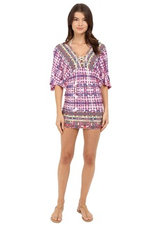 Nanette Lepore Sunset Shibori Tunic Cover-Up