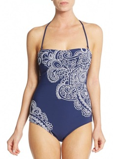 Nanette Lepore Swim One-Piece Henna Goddess Swimsuit