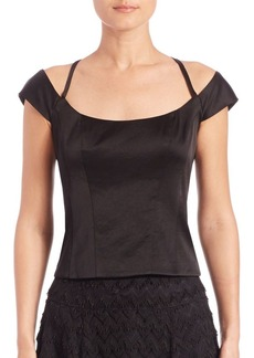Nanette Lepore Twisted Romance Top