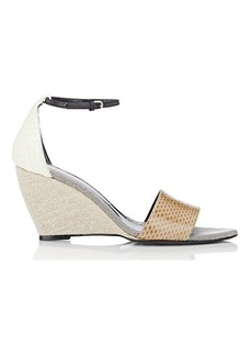 Narciso Rodriguez Alba Wedge Sandals