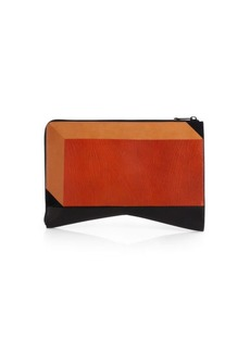 Narciso Rodriguez Colorblock Intersia Folio Clutch