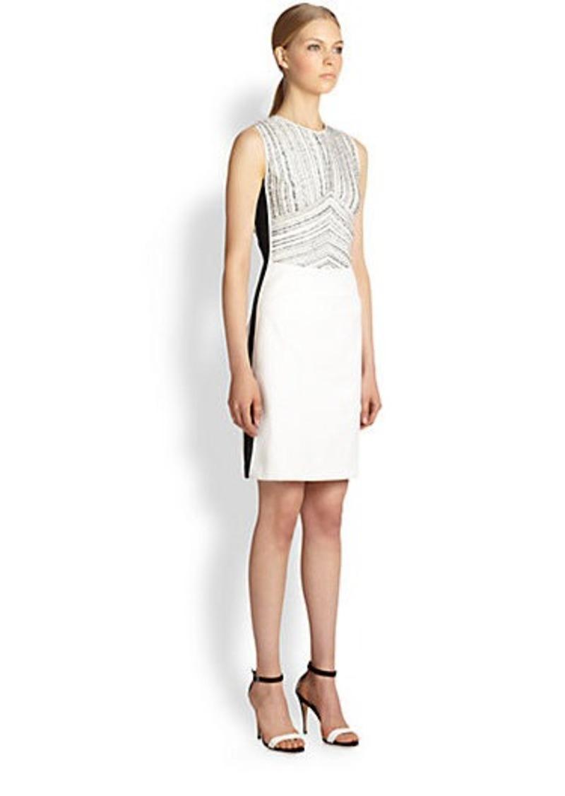 Narciso Rodriguez Mixed Media Dress