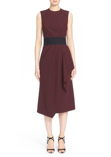 Narciso Rodriguez Wool Gabardine A-Line Dress
