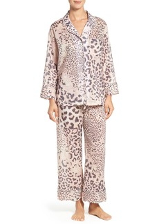 Natori 'Exotic Animal' Cotton Voile Pajamas
