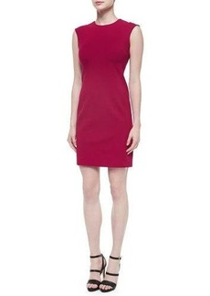 Natori Jewel-Neck Sleeveless Shift Dress  Jewel-Neck Sleeveless Shift Dress