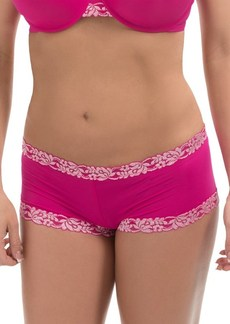 Natori Lace-Trimmed Panties - Boy Shorts (For Women)