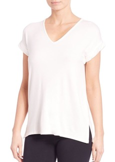 Natori Lounge V-Neck Top