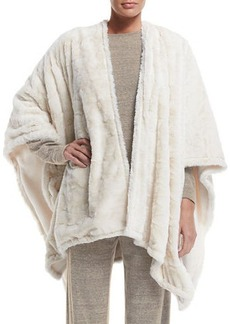 Natori Reversible Blanket Shawl  Reversible Blanket Shawl