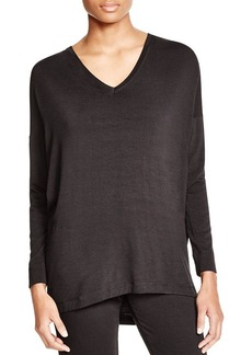 Natori V-Neck Lounge Top