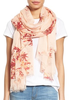 Nordstrom 'Blurred Blossoms' Scarf