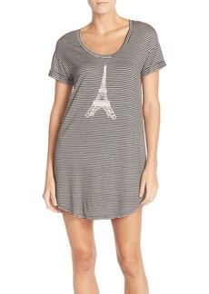 Nordstrom Lingerie Graphic Jersey Sleep Shirt