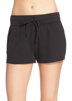 Nordstrom Lingerie 'Lazy Mornings' Cotton Knit Lounge Shorts