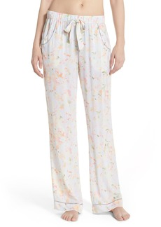 Nordstrom Lingerie 'Sweet Dreams' Woven Lounge Pants