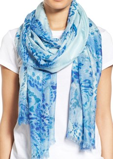 Nordstrom Oversize Paisley Print Cashmere & Silk Scarf