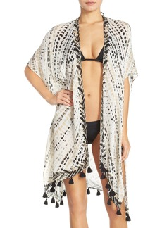 Nordstrom 'Sunglow' Dot Print Cover-Up Kimono