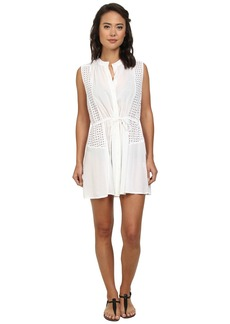Shoshanna Beach Shirt Dress