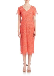 Shoshanna Corded Lace Beaux Dress