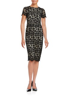 SHOSHANNA Crocheted Sheath Dress