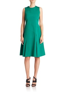 Shoshanna Kasia Stretch Faille Dress
