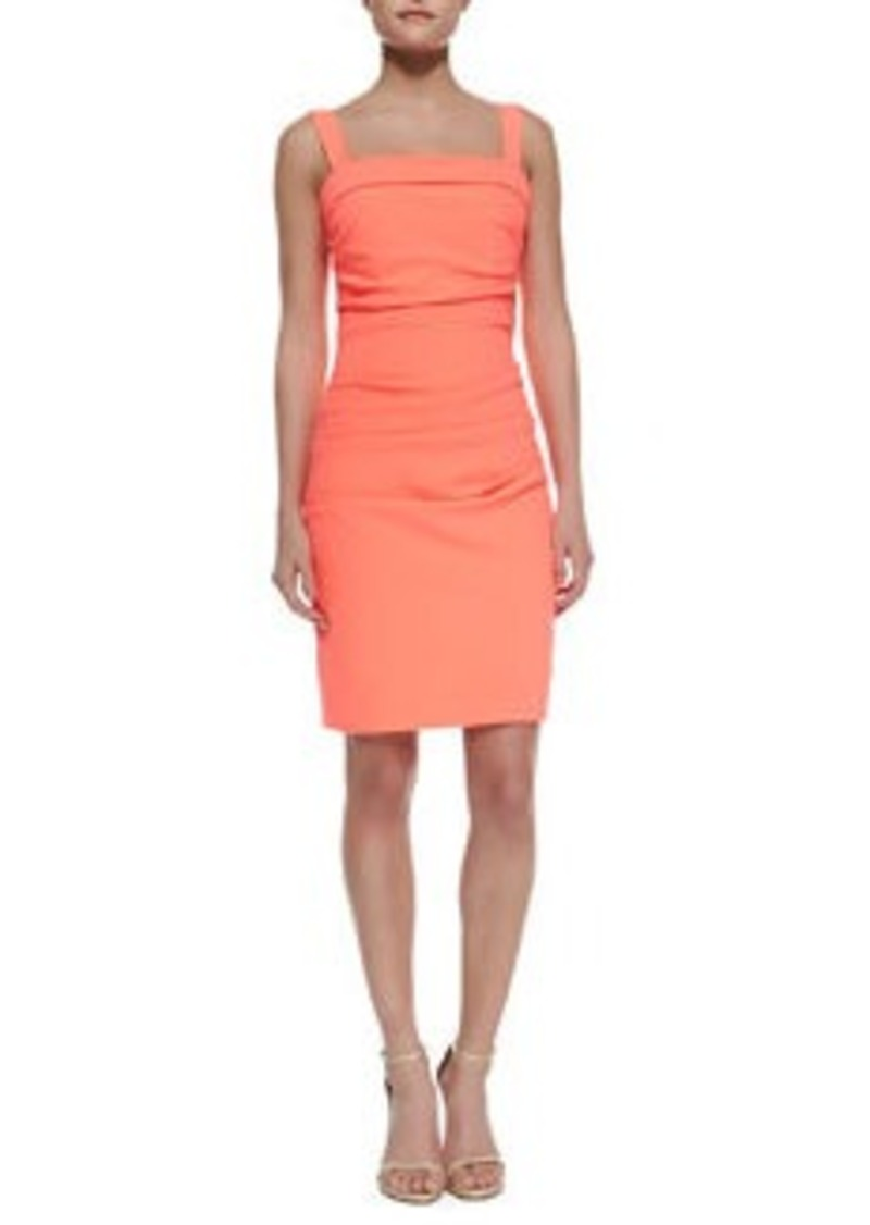 Shoshanna Sheath Dress with Shoulder Straps