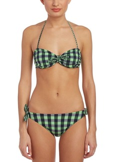 Shoshanna Shoshanna Gingham Brief Bottom