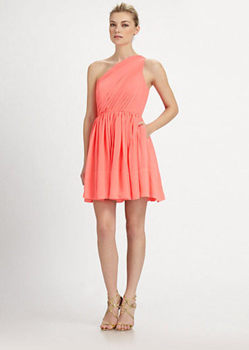 Shoshanna Silk Rayna Dress