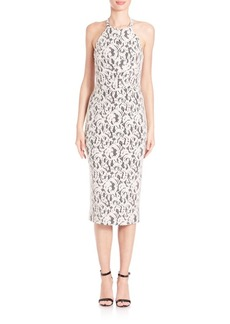 Shoshanna Uma Lace Midi Dress