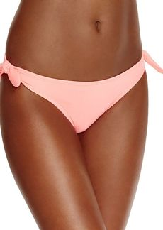 Shoshanna Watermelon Side Tie Hipster Bikini Bottom