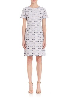 Shoshanna Woven Shift Dress