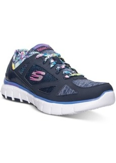 Skechers Women's Relaxed Fit: Skech Flex - Tropical Vibe Running Sneakers from Finish Line