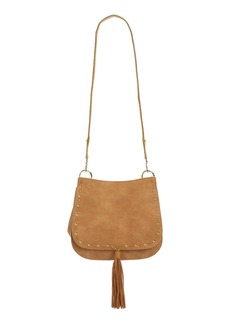 Steve Madden 'B Swiss' Faux Leather Saddle Bag