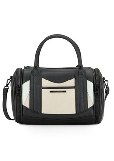 Steve Madden Benson Colorblock Faux Leather Satchel