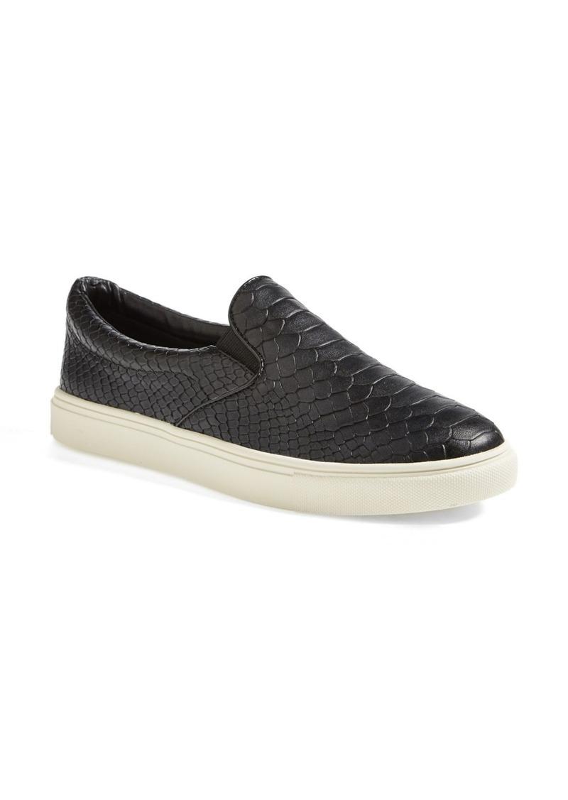 Steve Madden 'Ecntrc-c' Snake-Embossed Slip-On Sneaker (Women)