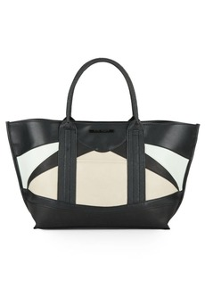 Steve Madden Melody Colorblock Faux Leather Tote & Pouch